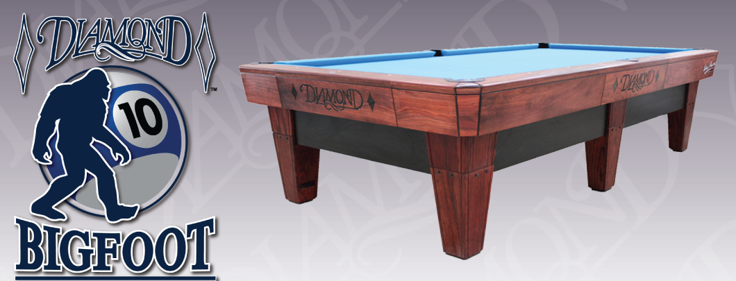 Diamond Billiard Products Inc - 7 foot diamond pool table