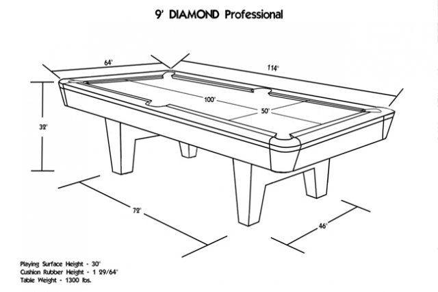Pool Table Dimensions Height Best Home Interior - Standard pool table height