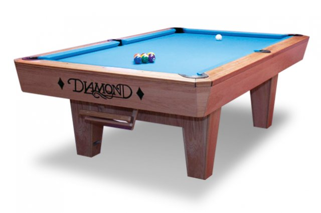 The Professional Drop Pocket Table - 7 foot diamond pool table
