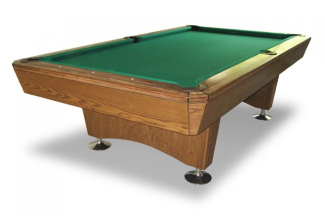 The Professional Drop Pocket Table - 9ft diamond pool table